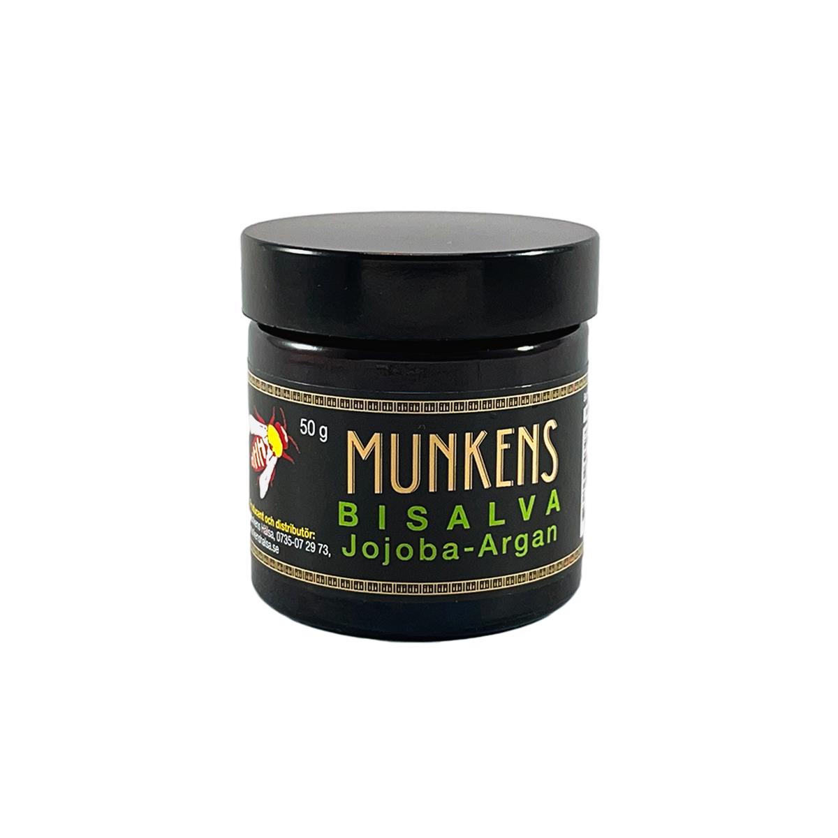 Munkens Bisalva Jojoba Argan – 50 g (Nya)