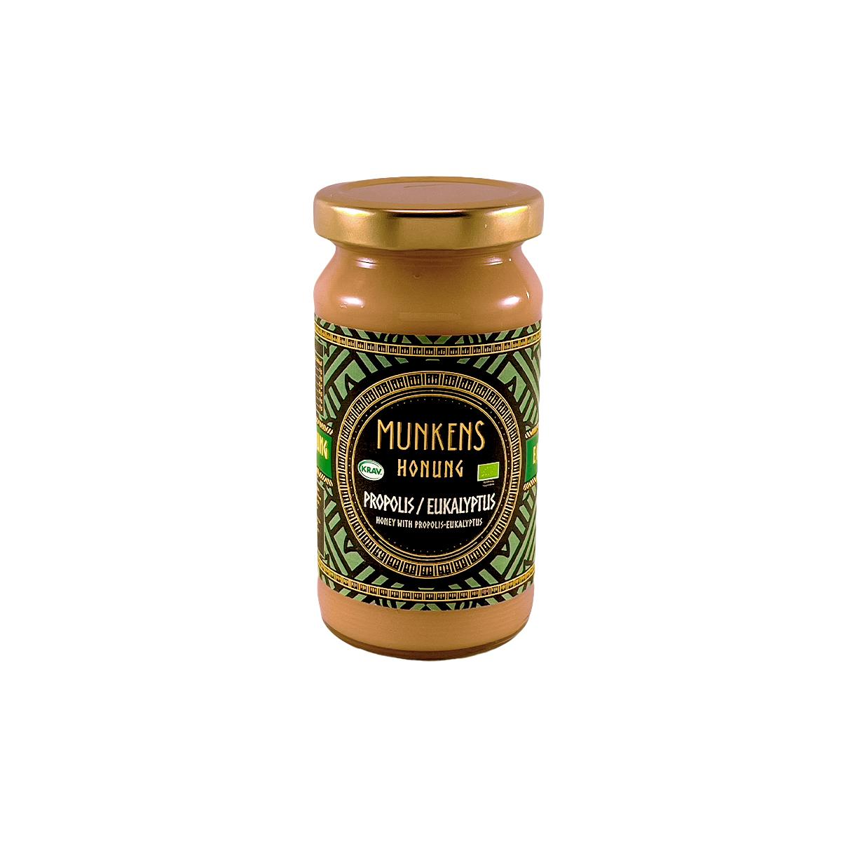 Munkens Honung – Kallrörd:Rå:Raw – Propolis & Eukalyptus