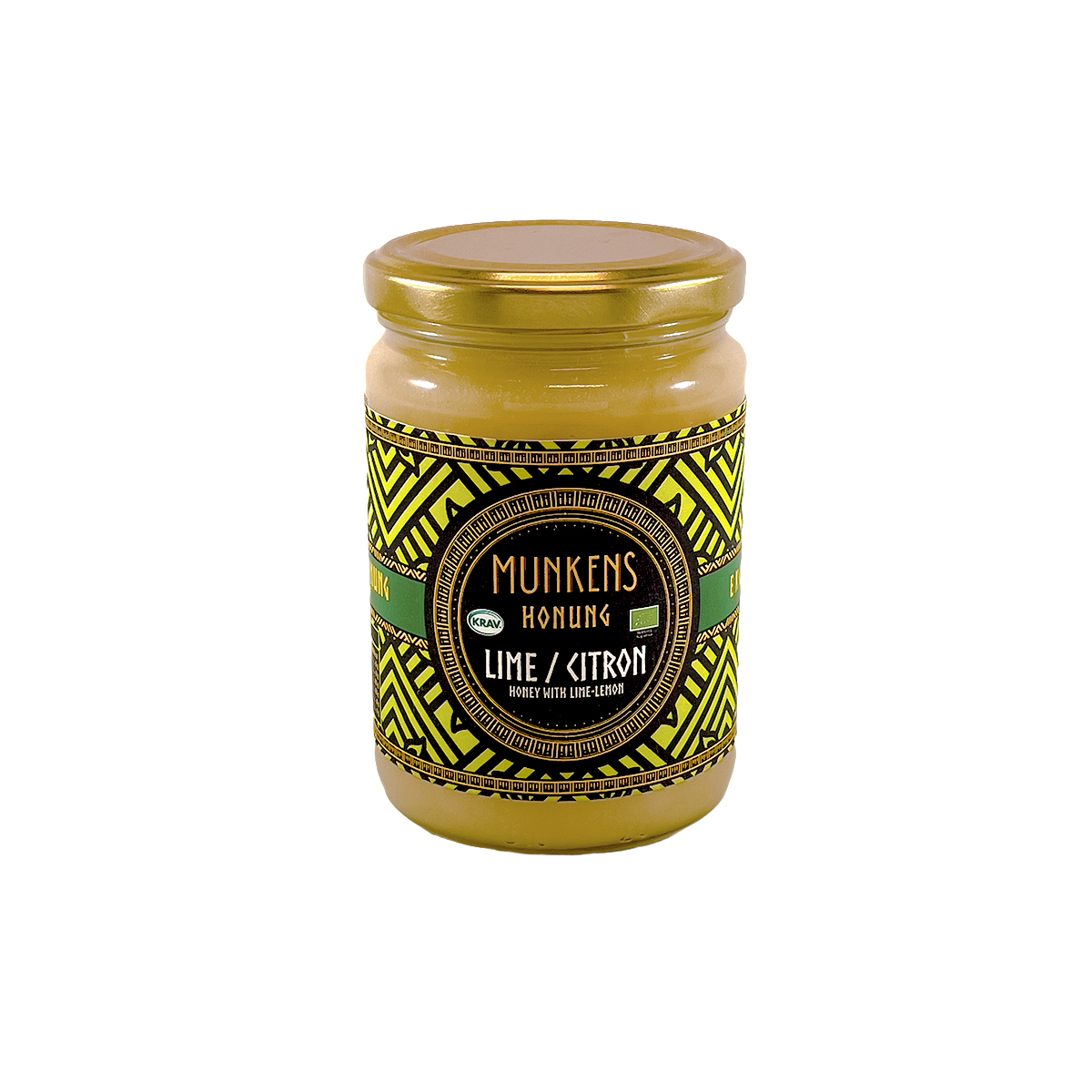 Munkens Honung – Kallrörd:Rå:Raw – Lime & Citron