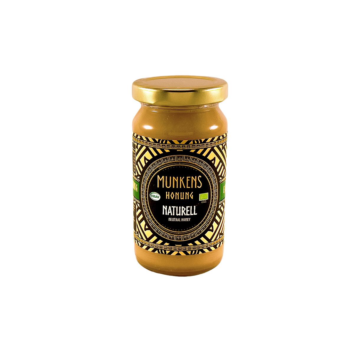 Munkens Honung – Kallrörd:Rå:Raw – Naturell 280g