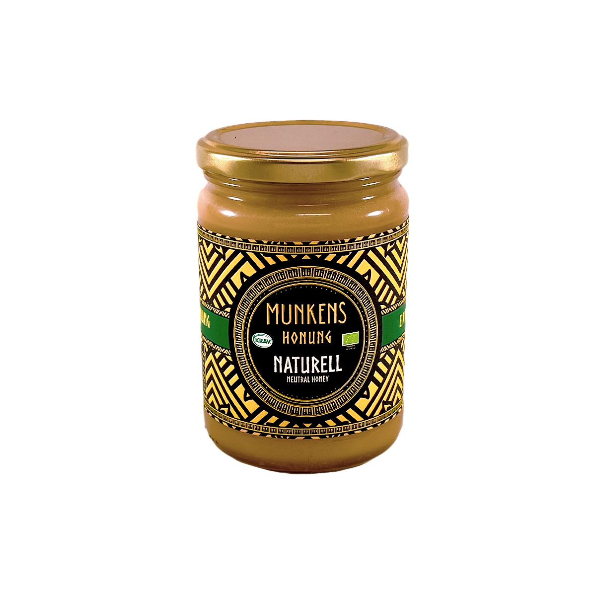 Munkens Honung – Kallrörd:Rå:Raw – Naturell 500g