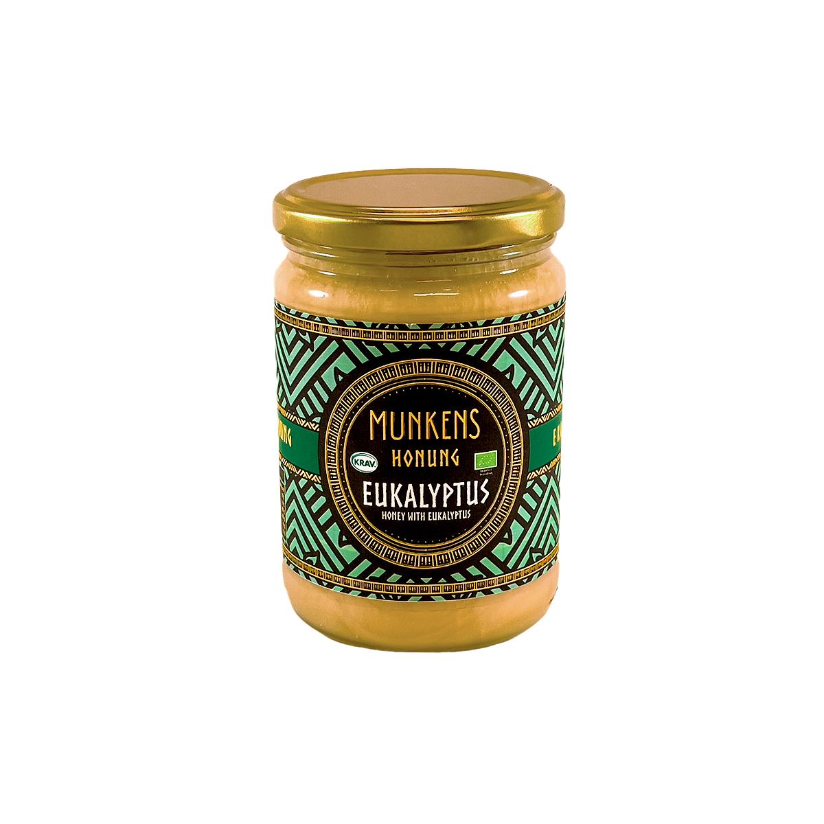 Munkens Honung – Kallrörd:Rå:Raw – Eukalyptus 500g