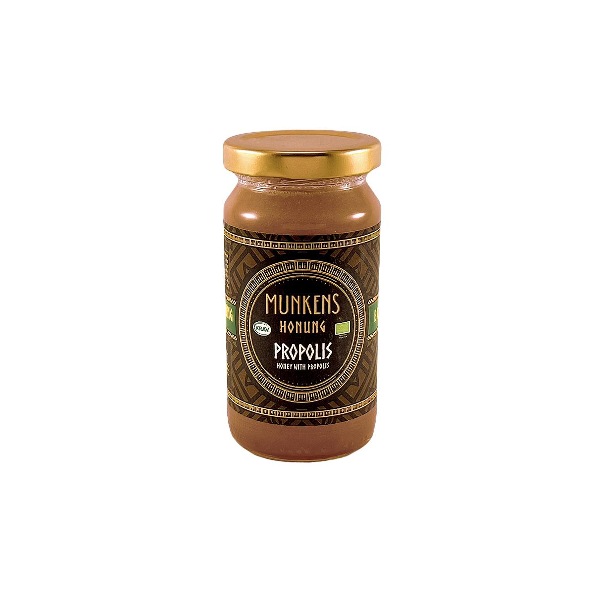 Munkens Honung – Kallrörd:Rå:Raw – Propolis